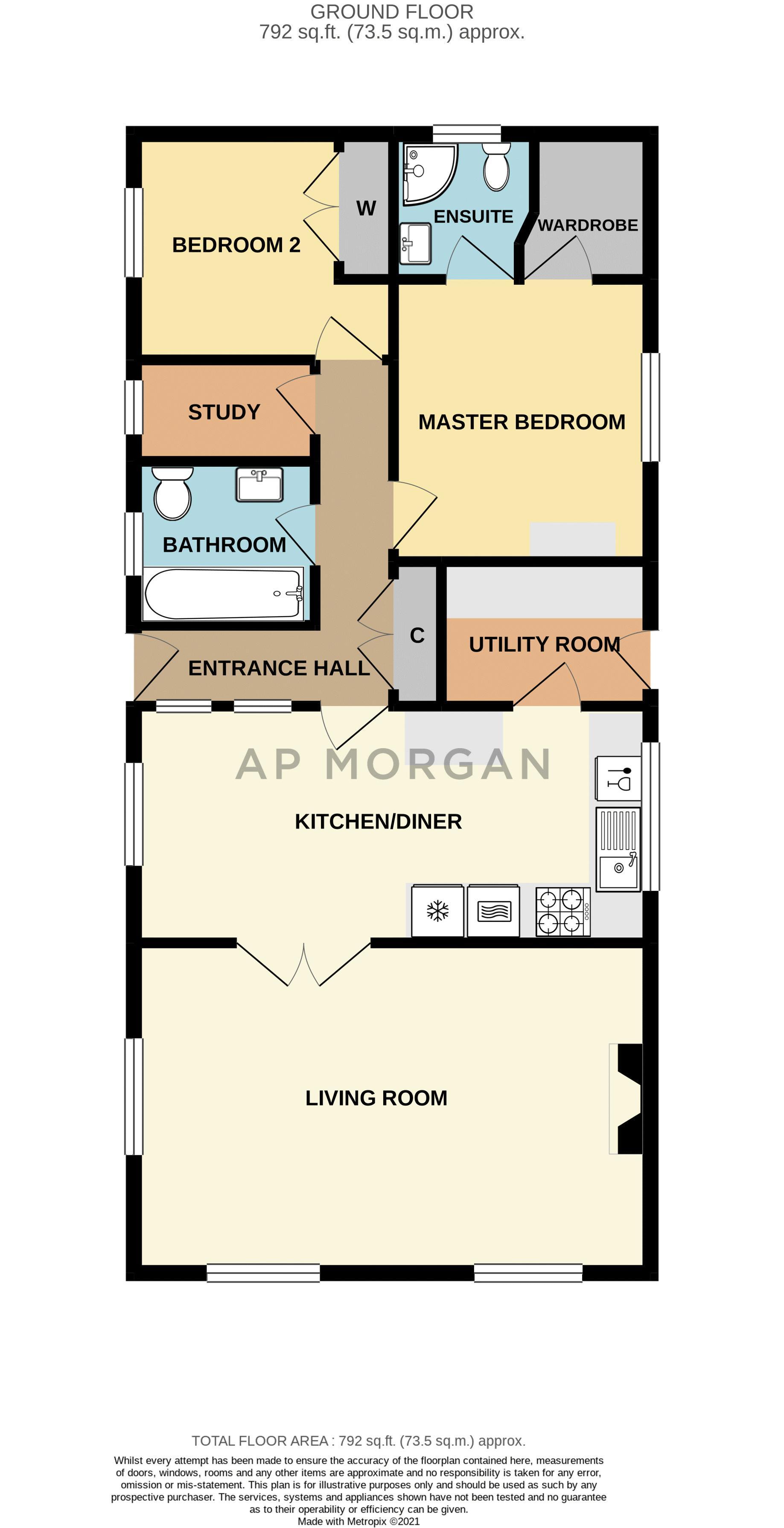 2 bed  for sale in Juggins Lane - Property Floorplan