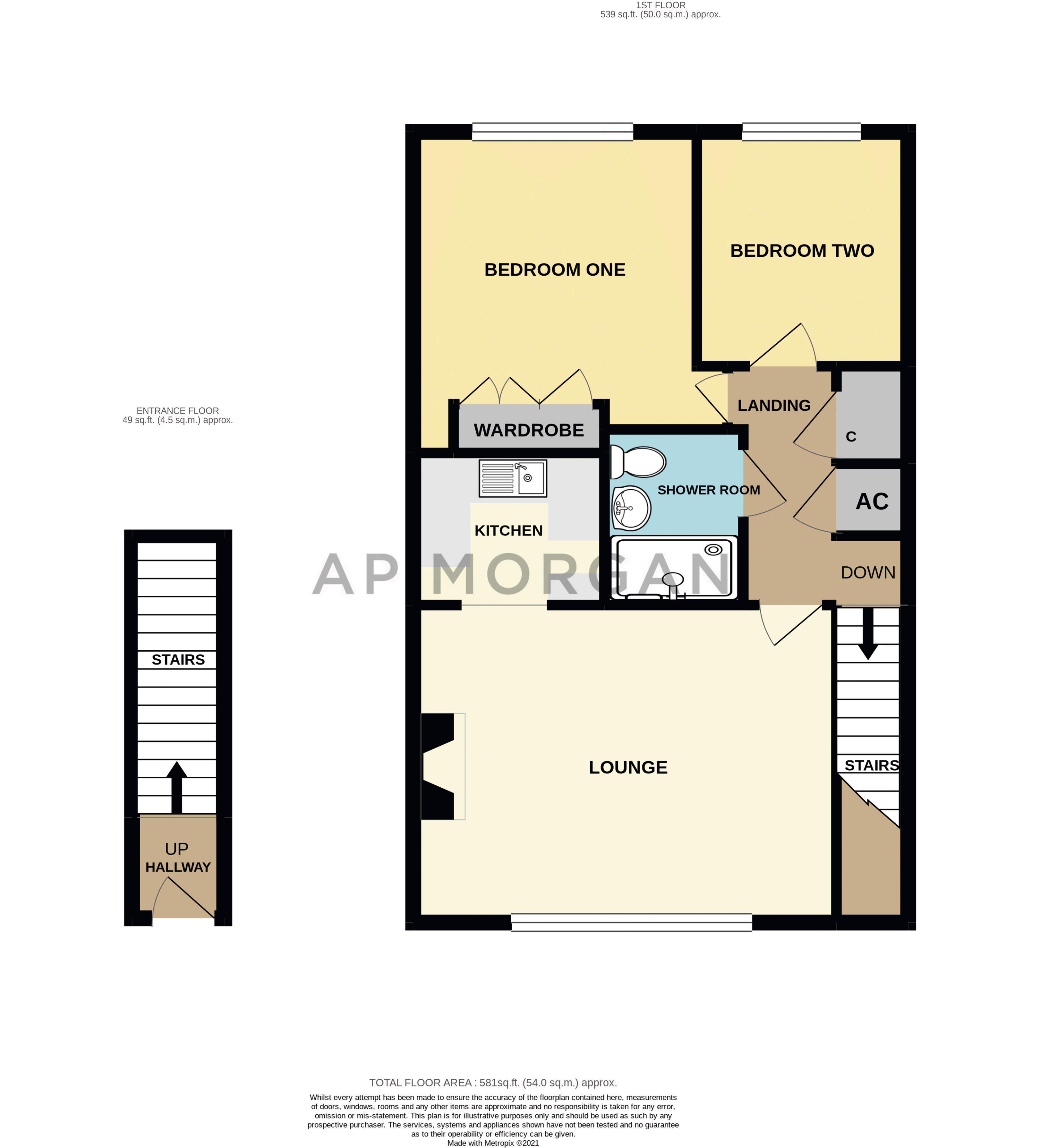 2 bed  for sale in Housman Park - Property Floorplan