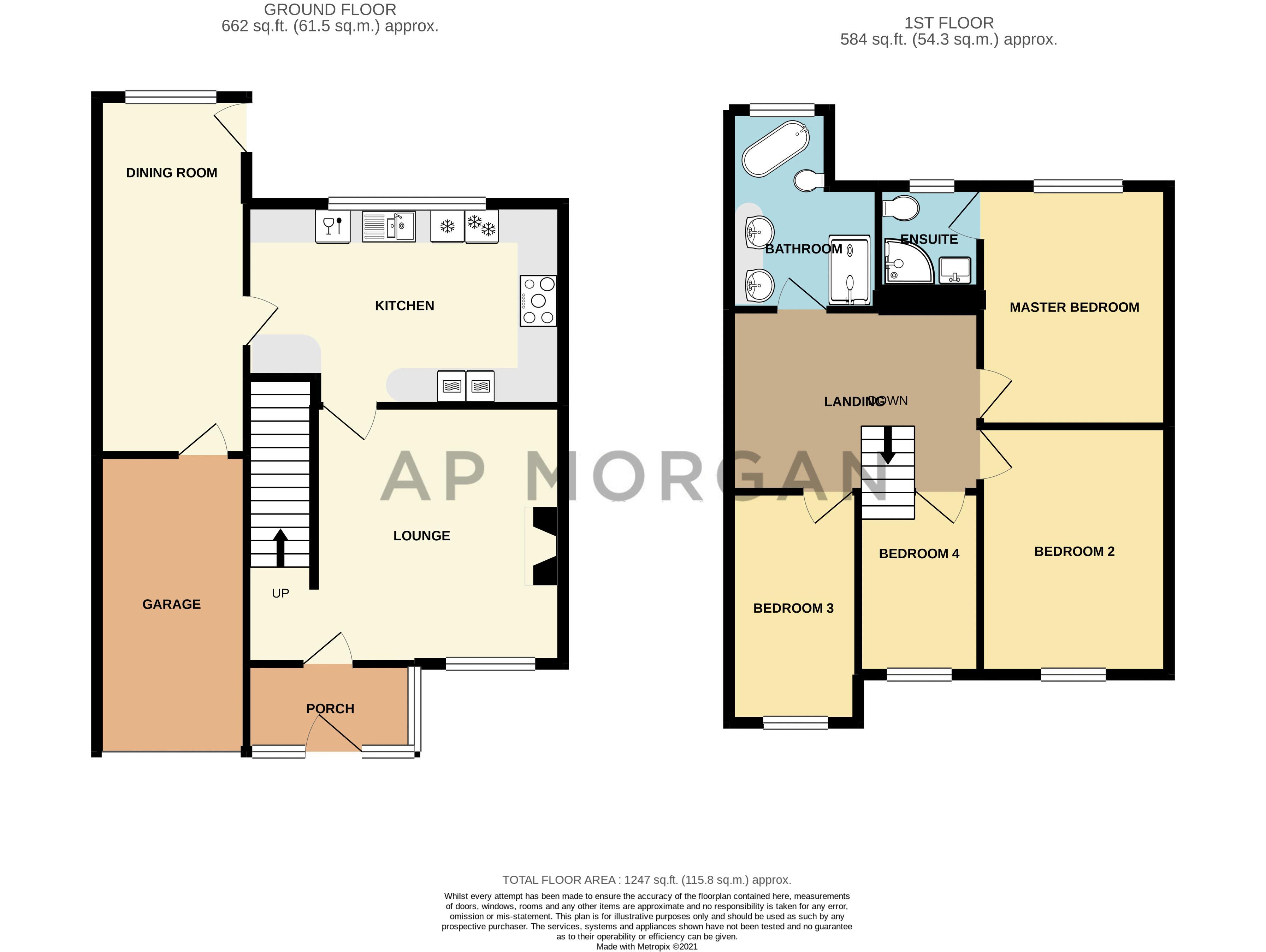 4 bed house for sale in Regis Heath Road - Property Floorplan