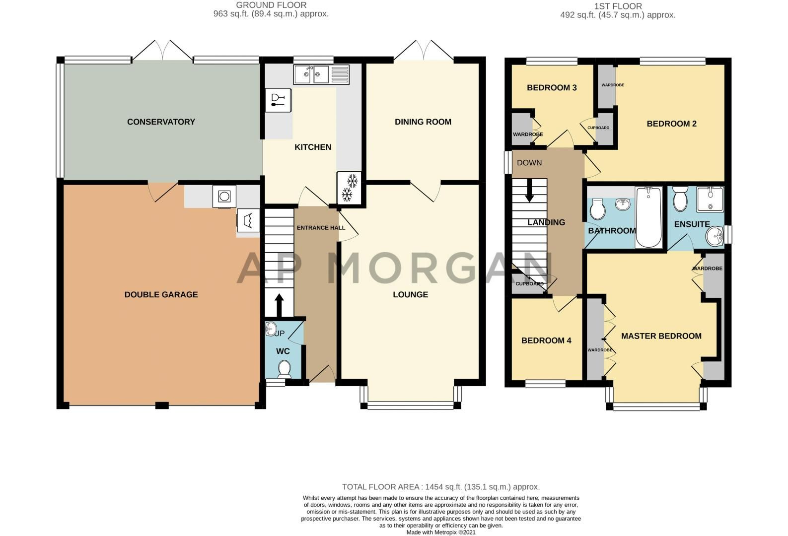 4 bed house for sale in Gratham Close - Property Floorplan