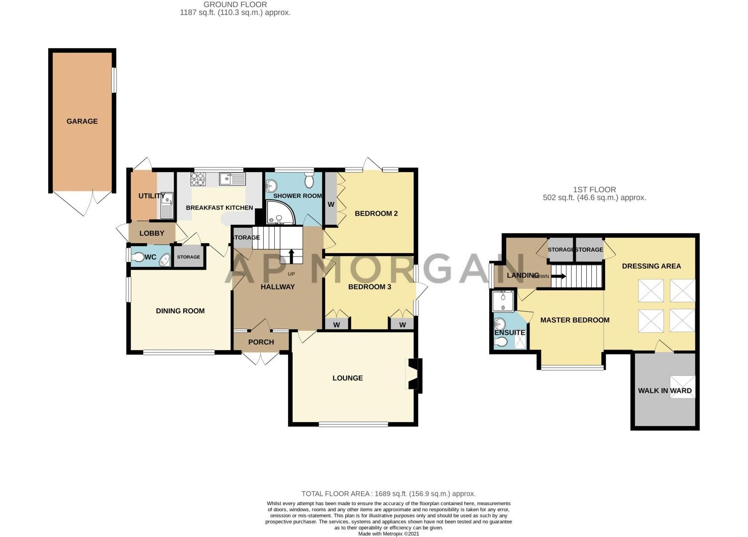 3 bed bungalow for sale in Drews Holloway - Property Floorplan