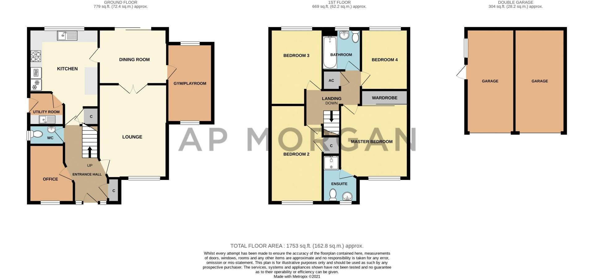 4 bed house for sale in Cirencester Close - Property Floorplan