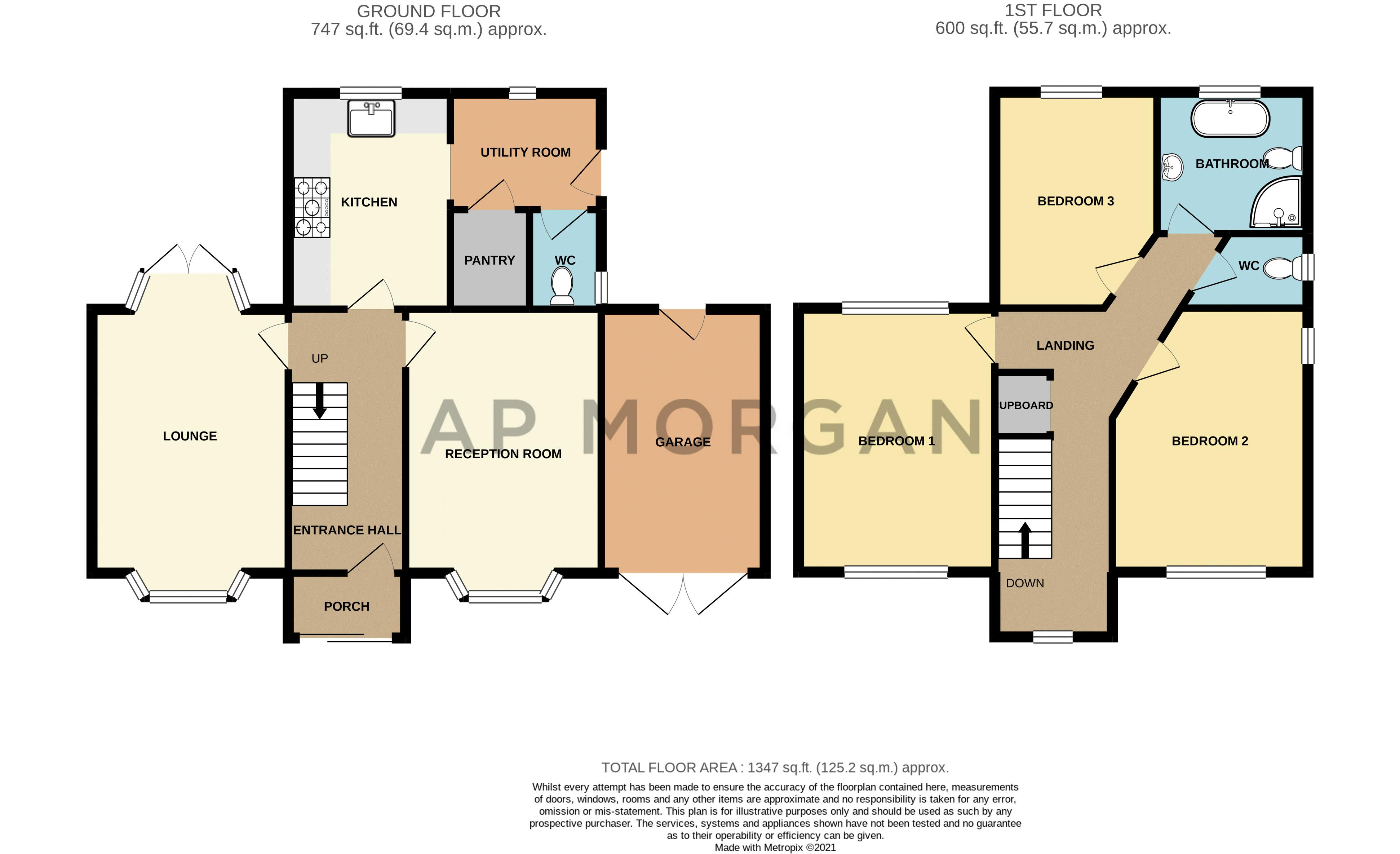 3 bed house for sale in Beckman Road - Property Floorplan