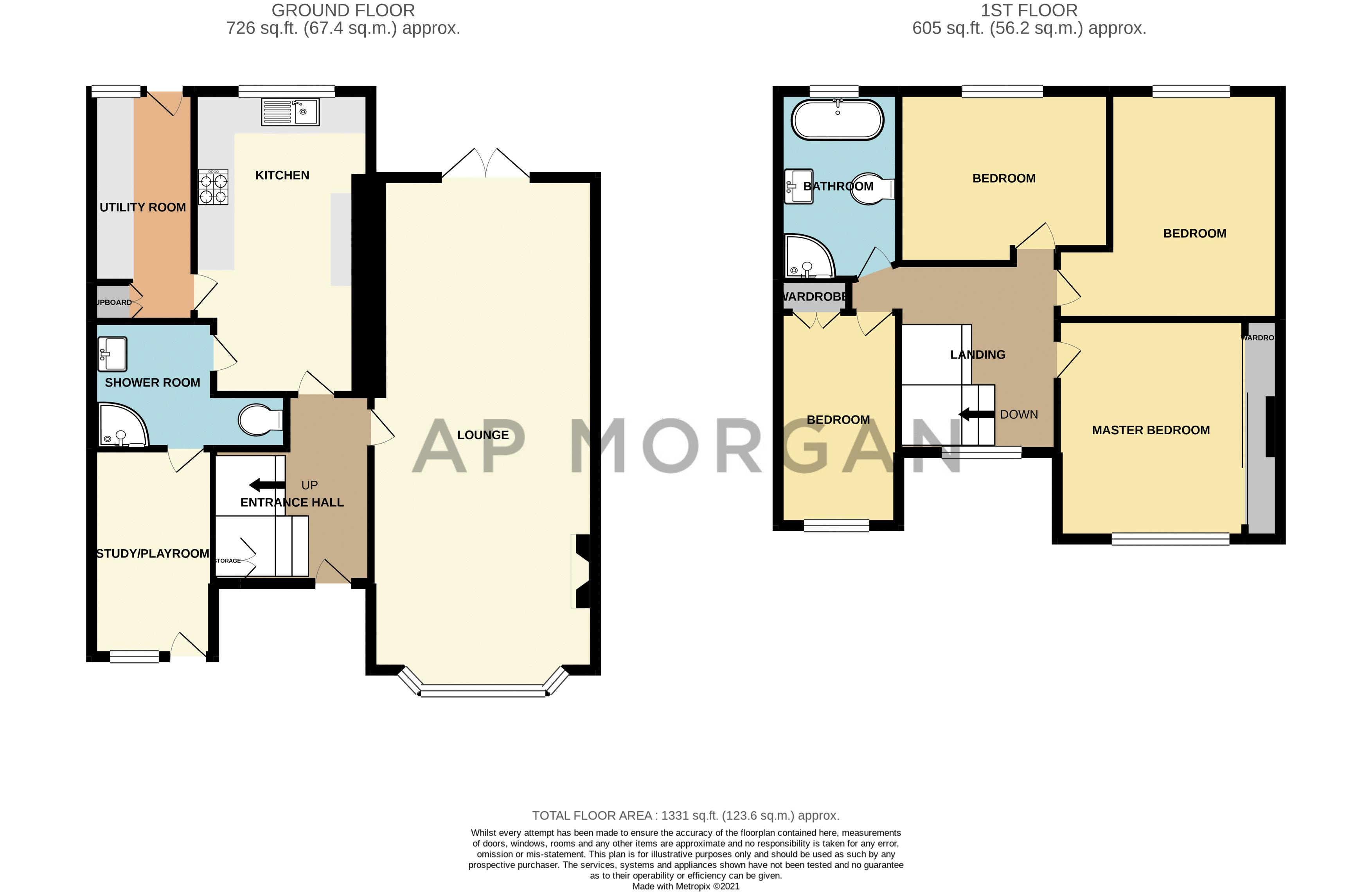 4 bed house for sale in Lilley Lane - Property Floorplan