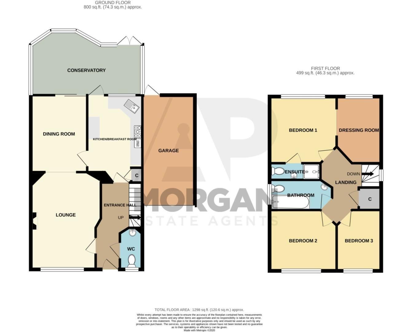 3 bed detached for sale in Batchelor Close, Amblecote - Property Floorplan