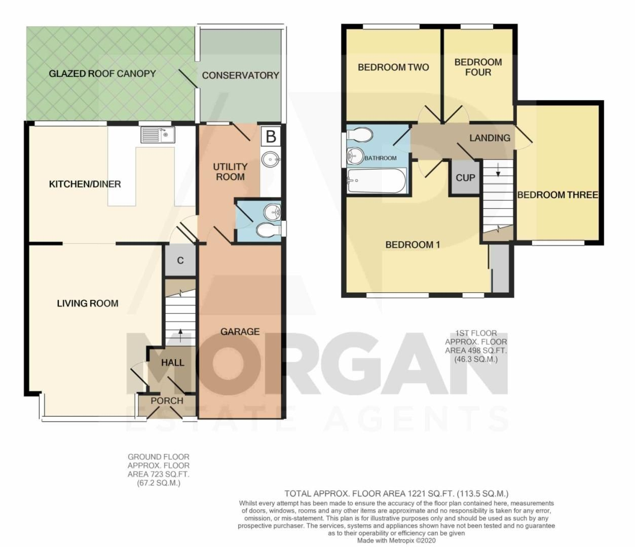 4 bed detached for sale in Packwood Close, Webheath - Property Floorplan