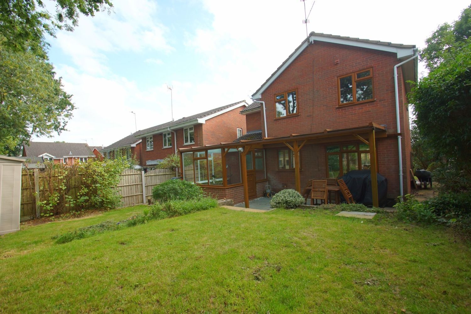 4 bed detached for sale in Packwood Close, Webheath 19
