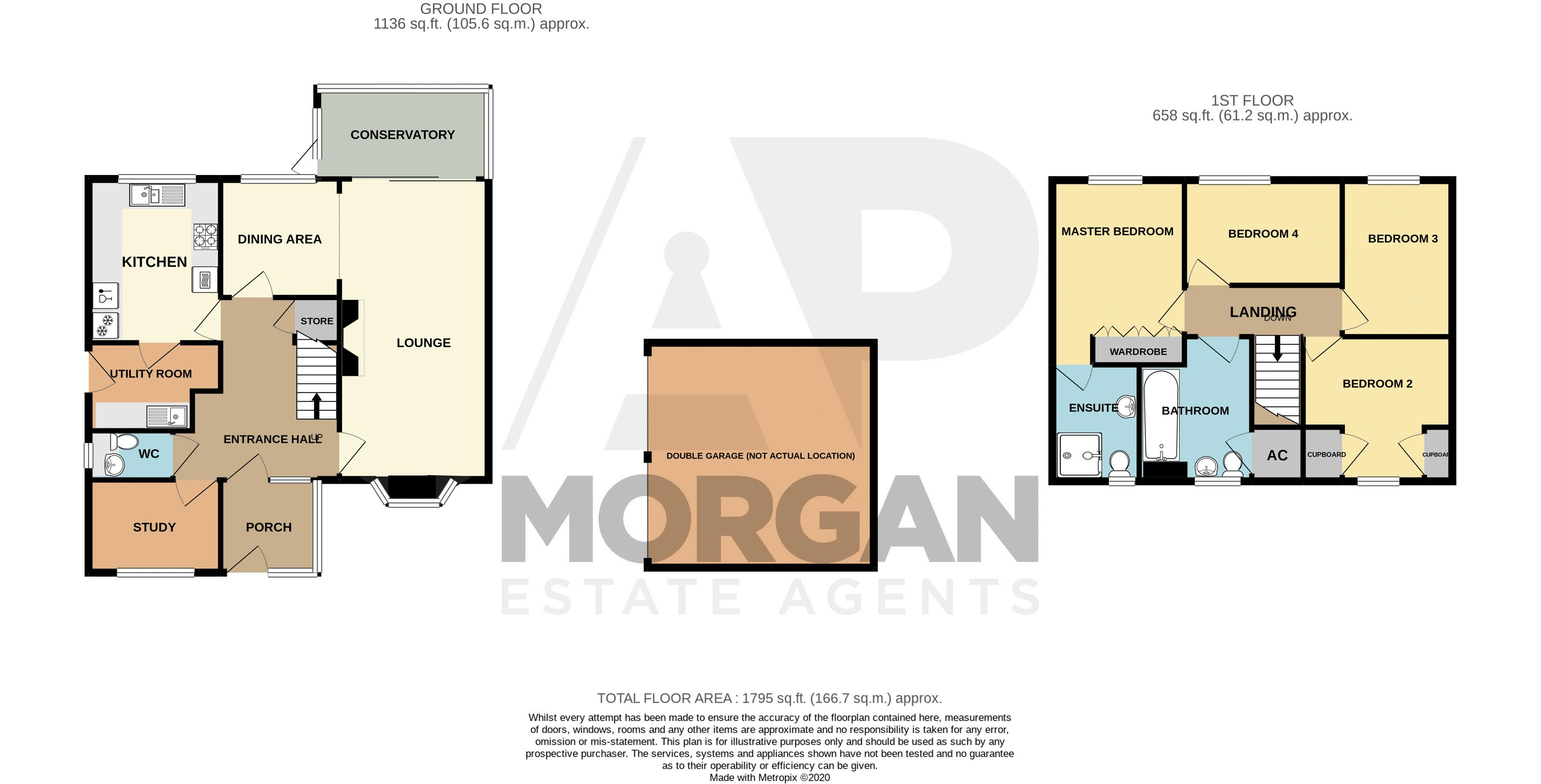 4 bed house for sale in Norbury Close - Property Floorplan