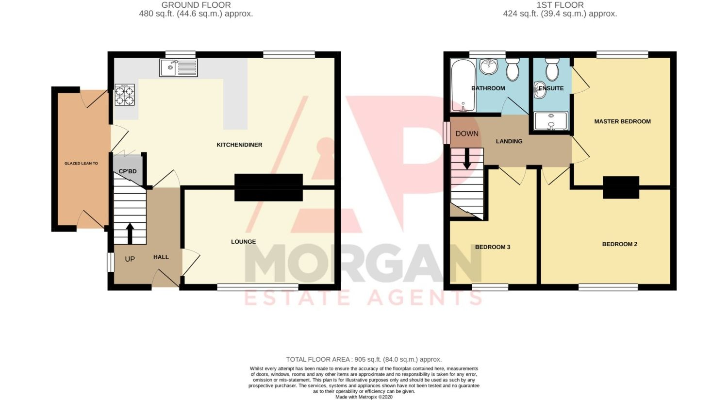 3 bed semi-detached for sale in Gauden Road, Wollescote - Property Floorplan