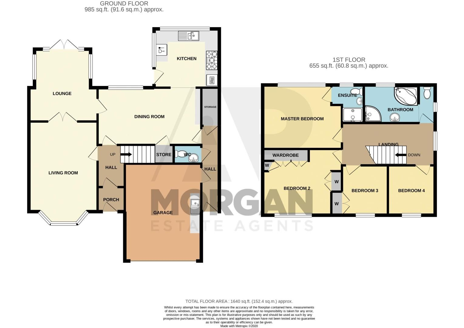 4 bed house for sale in Kidderminster Road - Property Floorplan