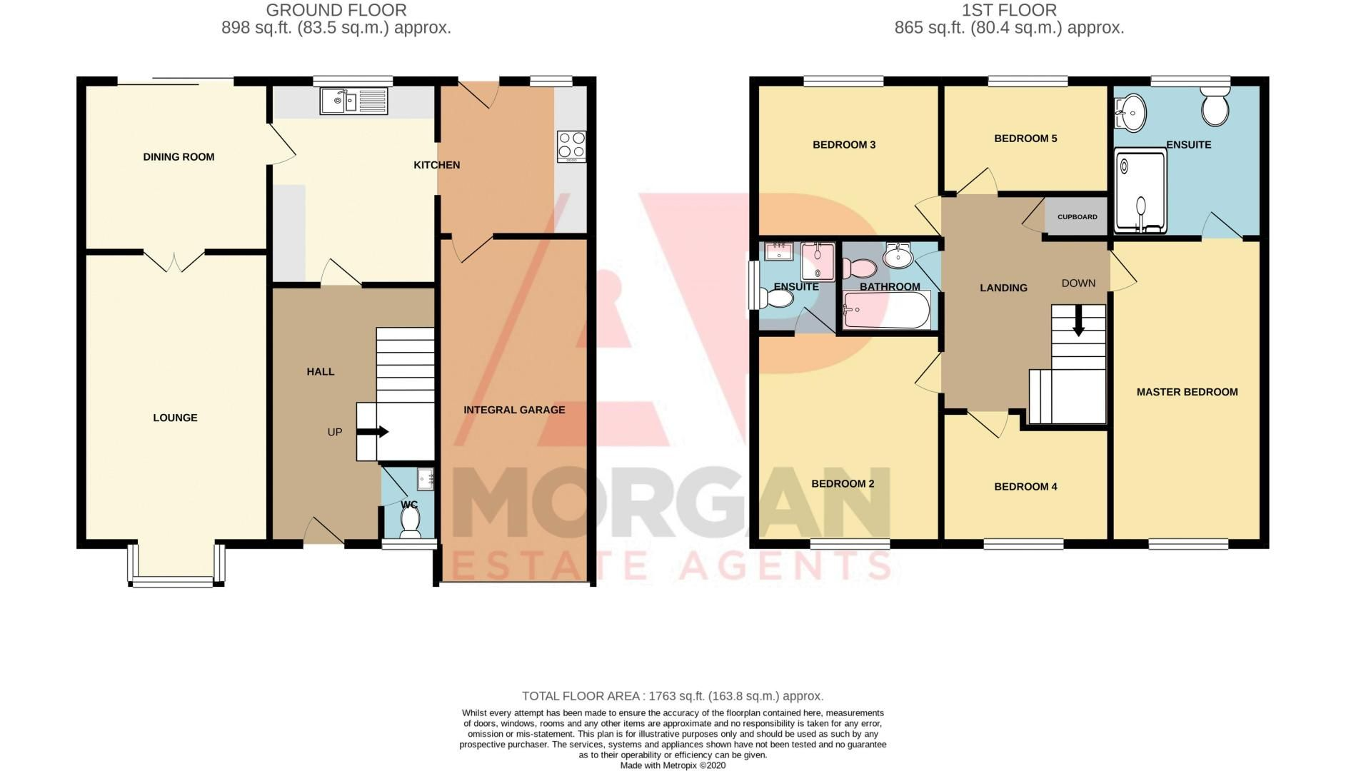 5 bed house for sale in Westmead Avenue - Property Floorplan