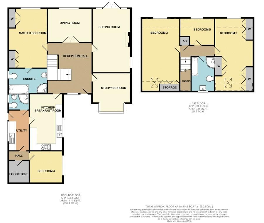 5 bed bungalow for sale in Morton Lane - Property Floorplan