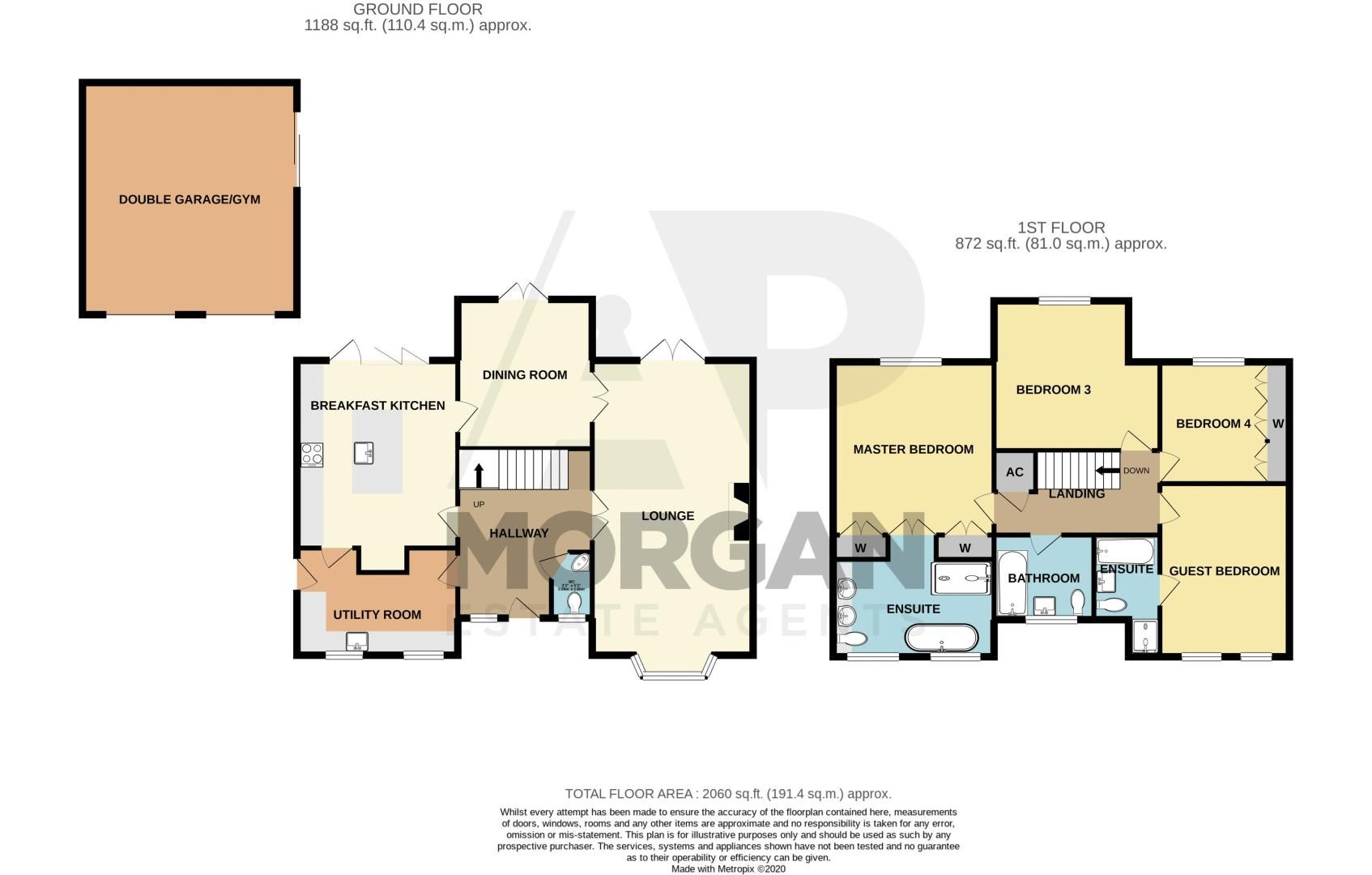 4 bed house for sale in Wheelers Lane - Property Floorplan