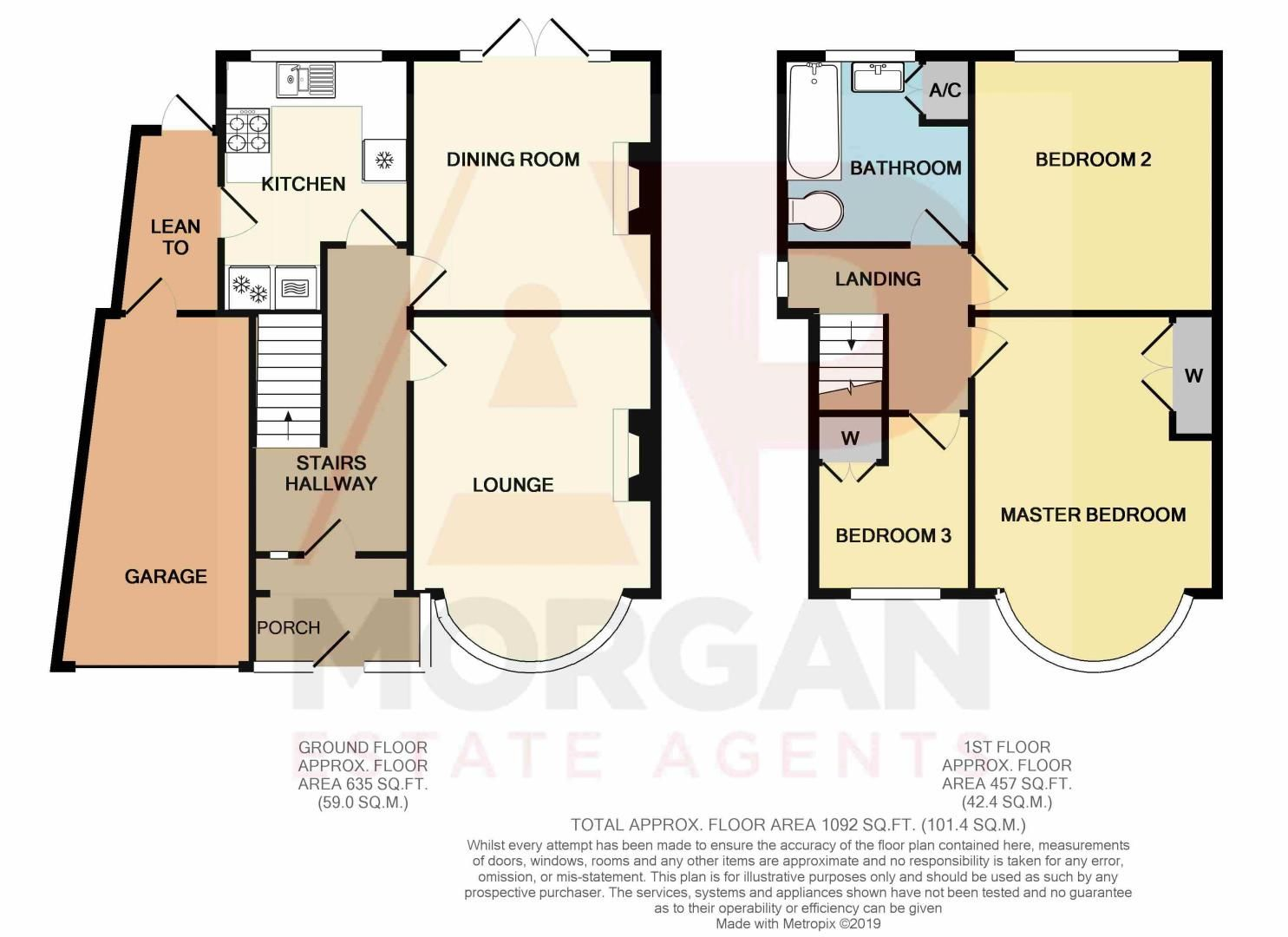 3 bed house for sale in Malvern Road - Property Floorplan