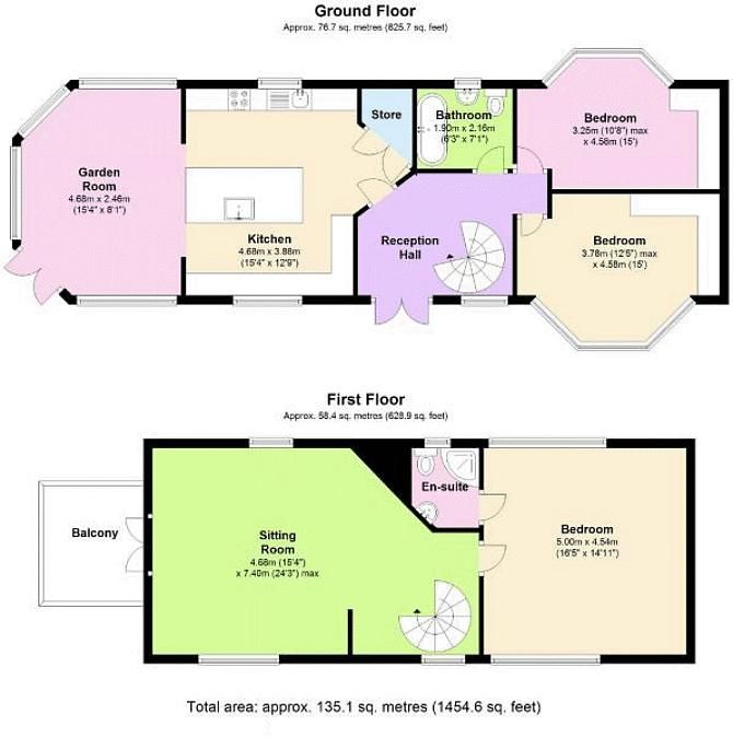 3 bed  for sale in County Lane - Property Floorplan