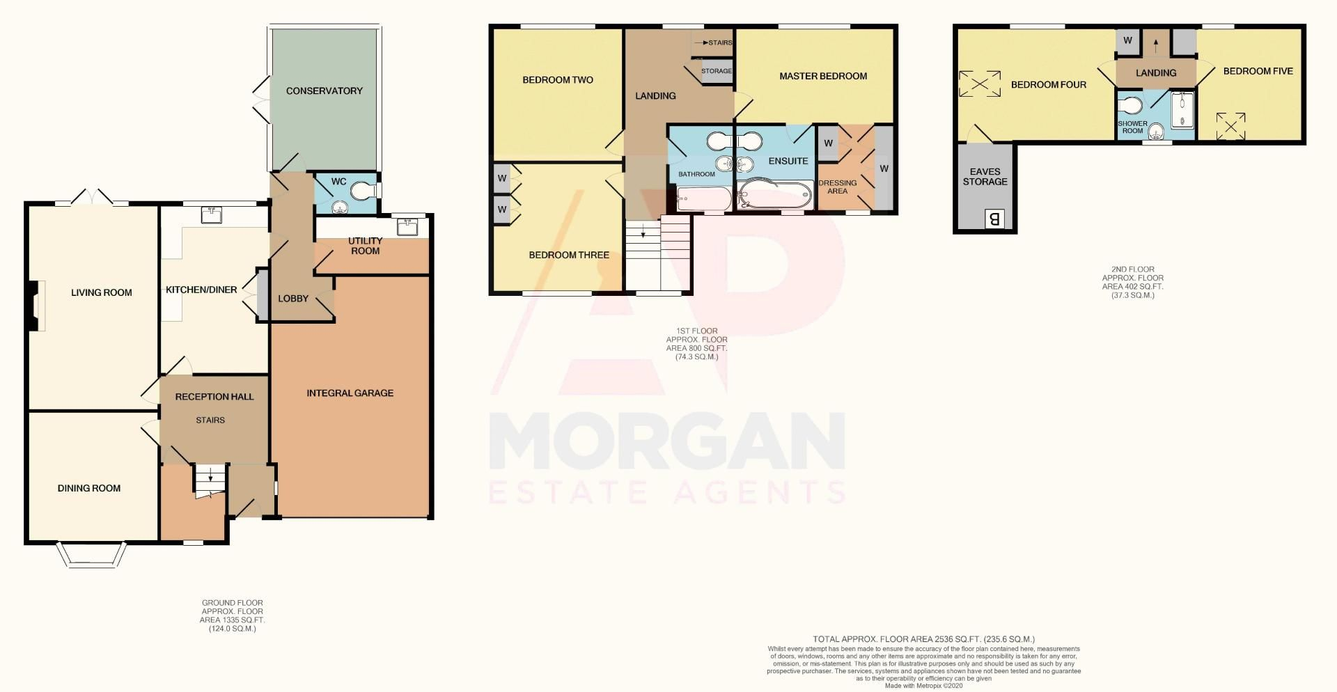 5 bed house for sale in Ham Lane - Property Floorplan