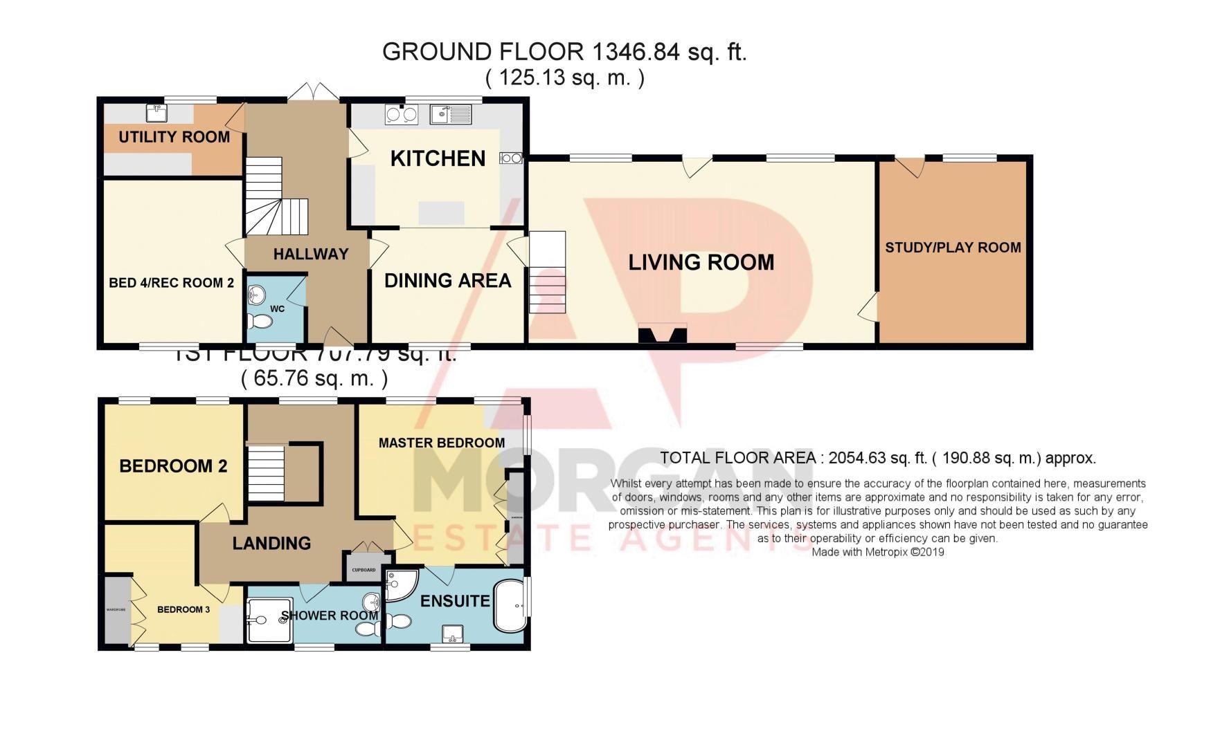 4 bed  for sale in Grafton Lane - Property Floorplan