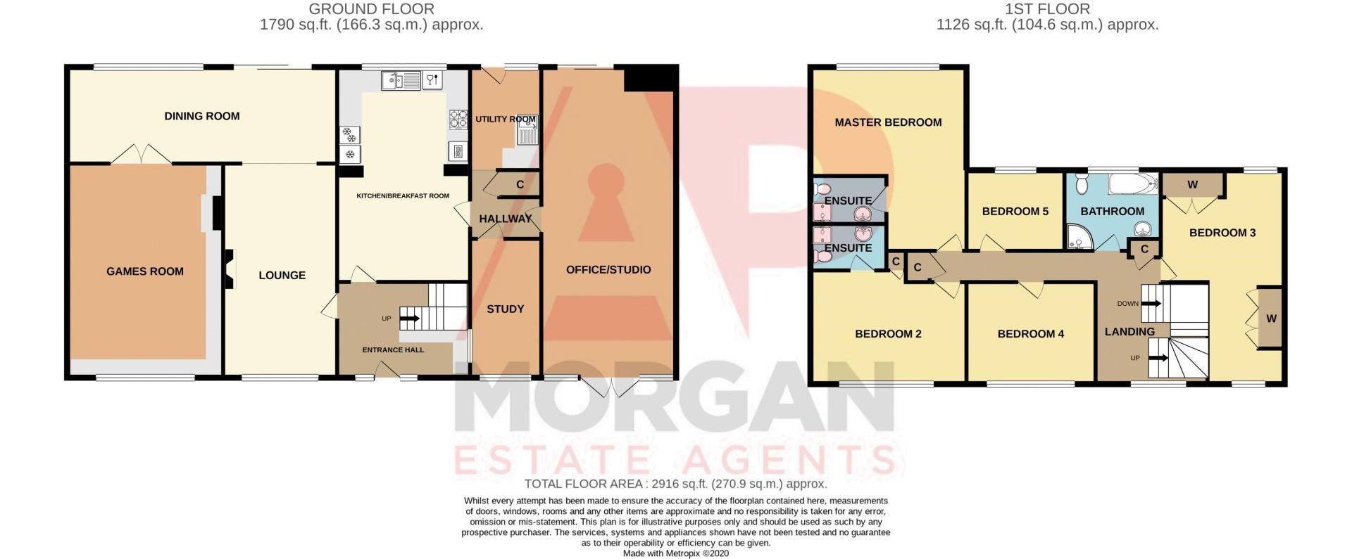 5 bed house for sale in Cottage Lane - Property Floorplan