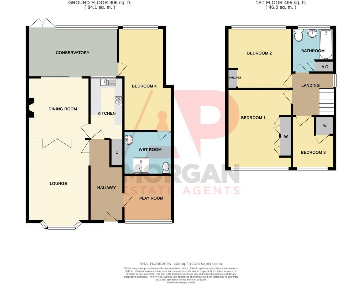 4 bed house for sale in Whittingham Road - Property Floorplan