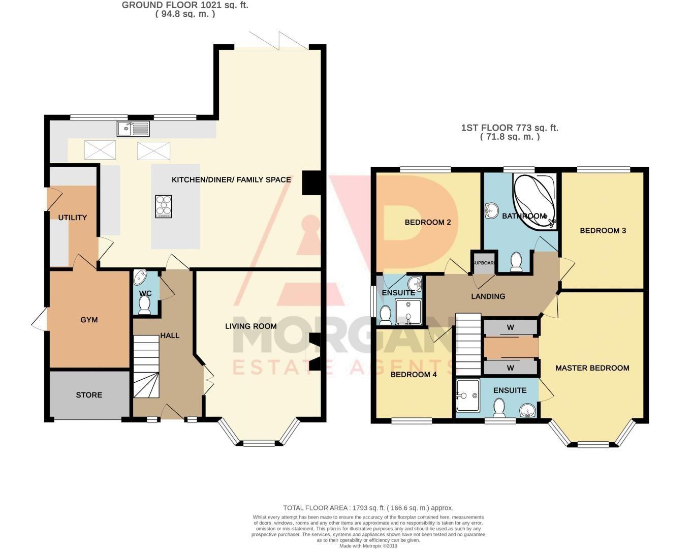 4 bed house for sale in Katmandu Road - Property Floorplan