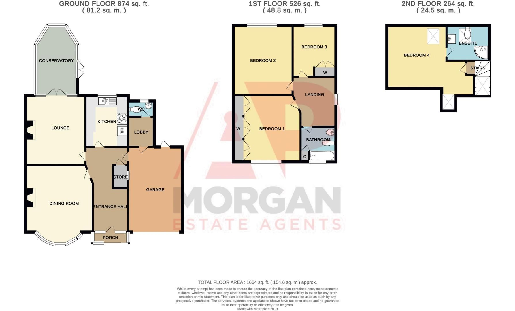 4 bed house for sale in Oak Barn Road - Property Floorplan