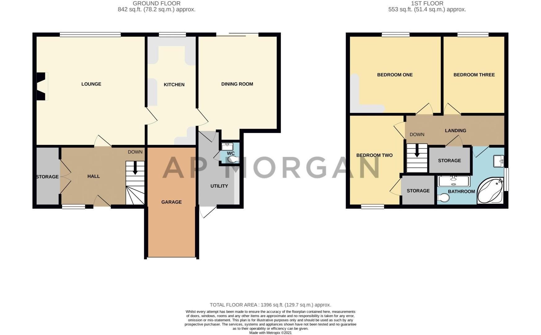 3 bed house for sale in Belbroughton Road - Property Floorplan