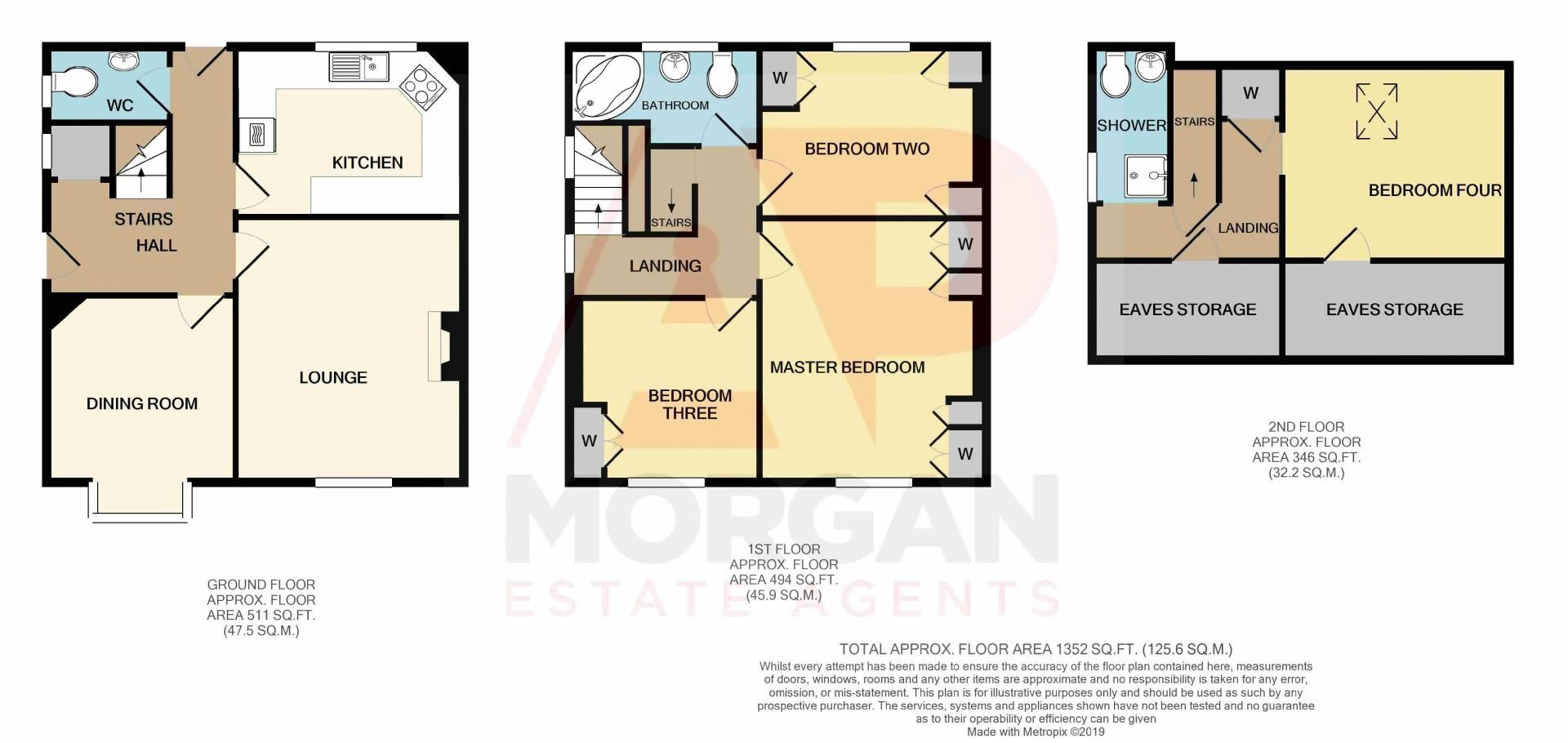 4 bed house for sale in Western Road - Property Floorplan