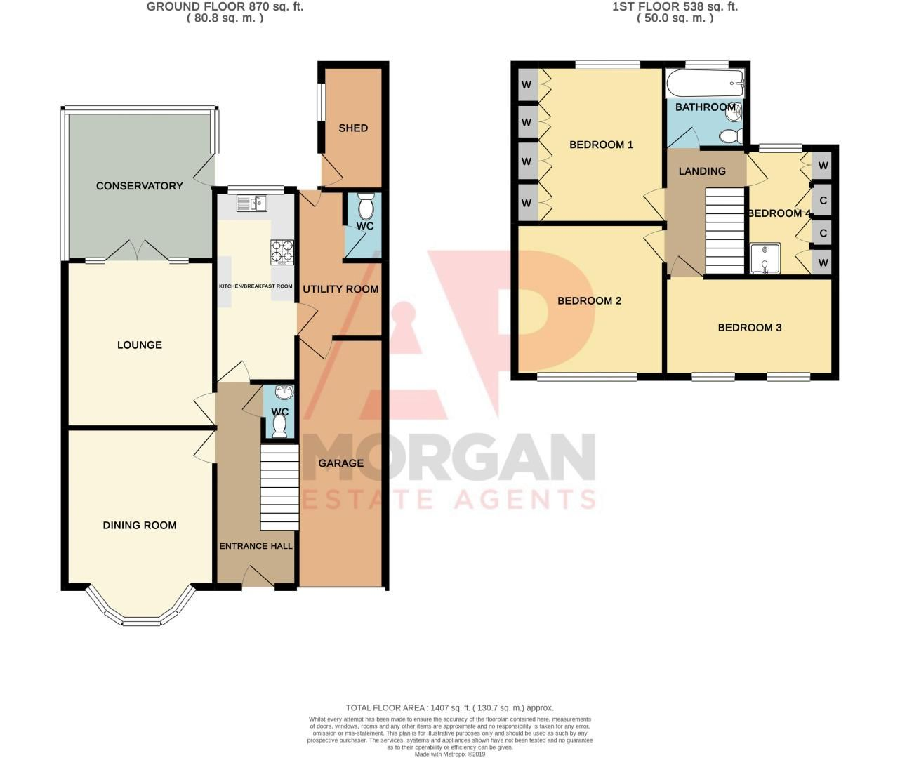 4 bed house for sale in Haden Park Road - Property Floorplan