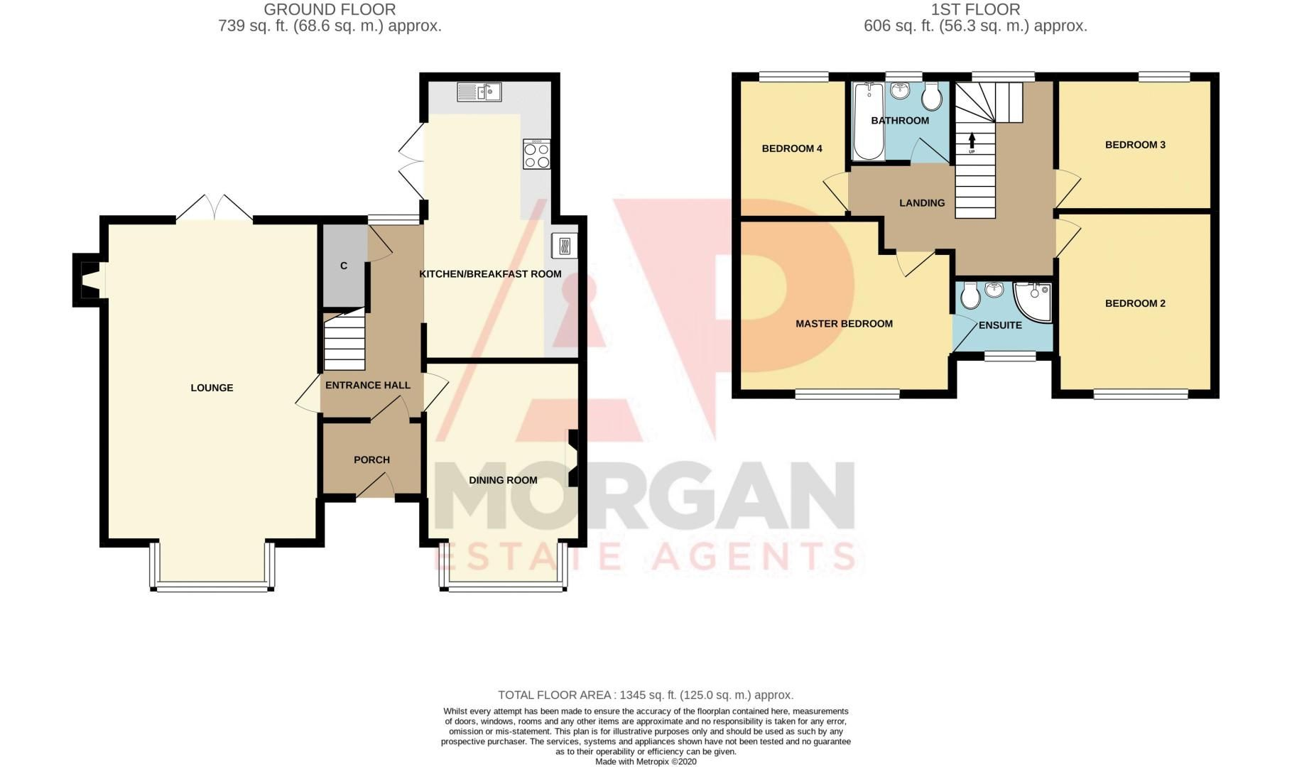 4 bed house for sale in Worcester Street - Property Floorplan