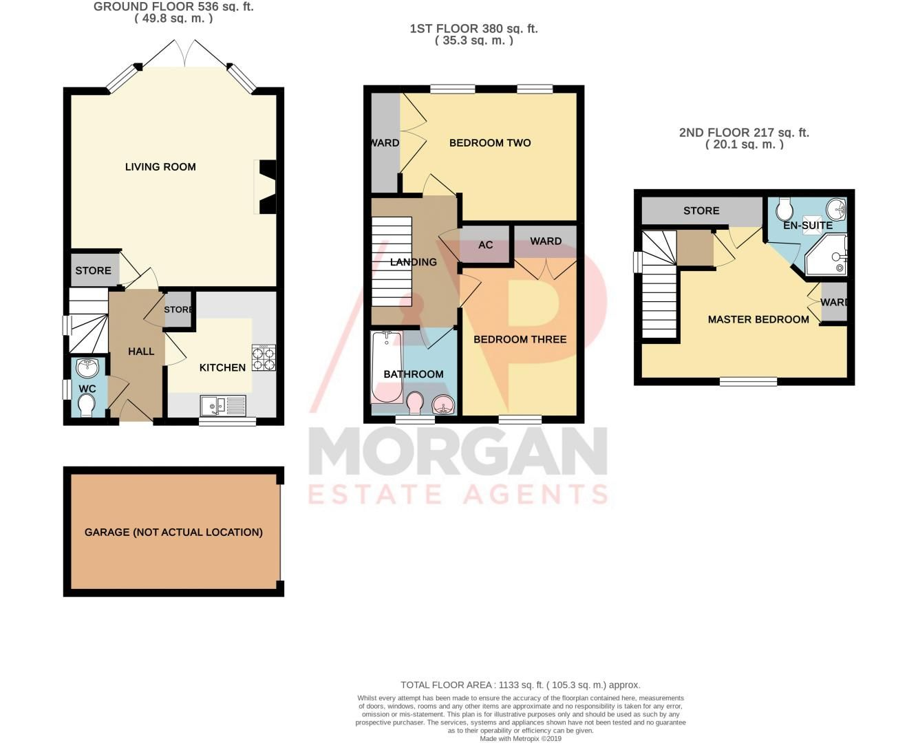 3 bed house for sale in Shakels Close - Property Floorplan