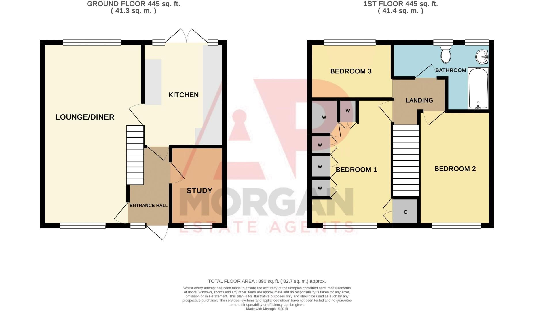3 bed house for sale in Trimpley Road - Property Floorplan