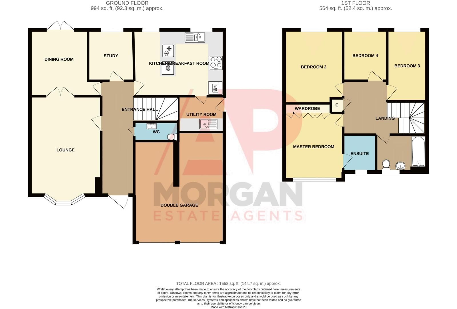 4 bed house for sale in Alhambra Road - Property Floorplan