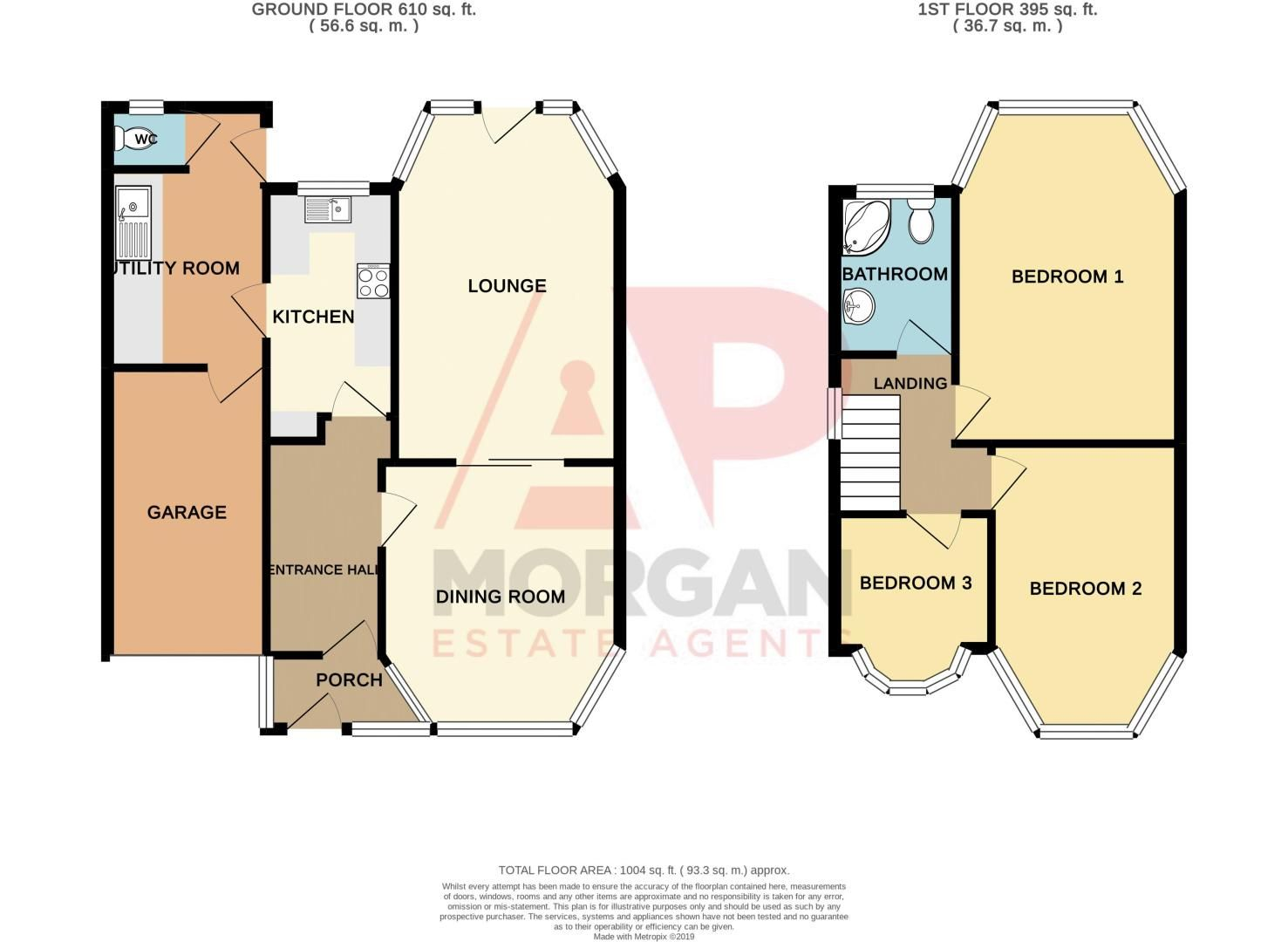 3 bed house for sale in King Charles Road - Property Floorplan