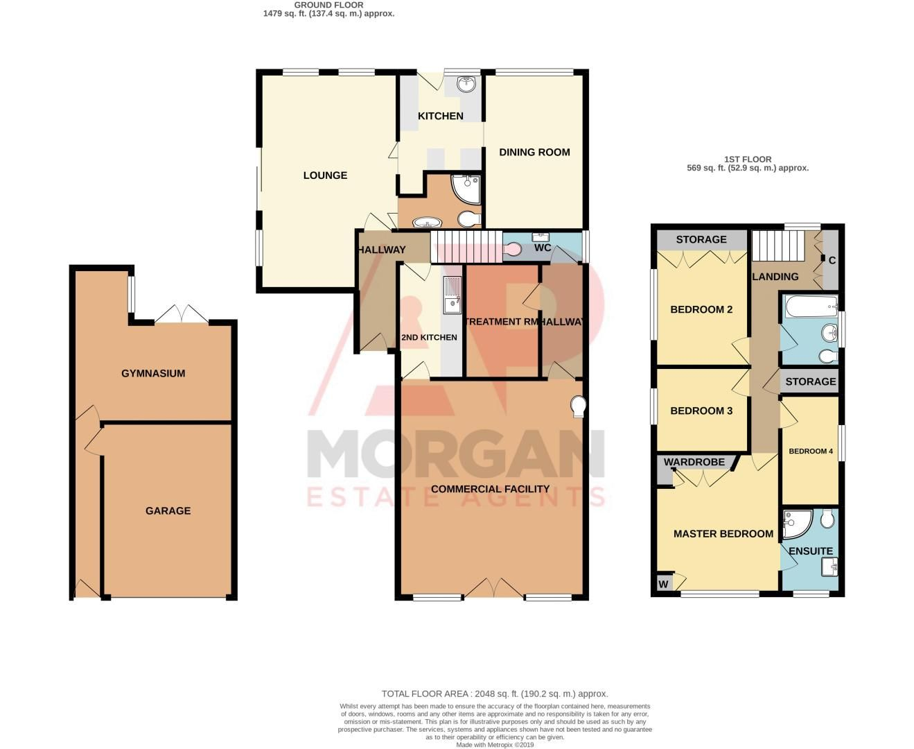 4 bed house for sale in Chesworth Road - Property Floorplan