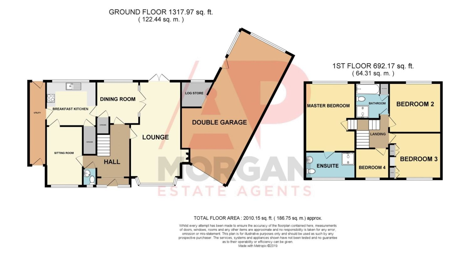 4 bed detached for sale in St. Richards Close, Wychbold - Property Floorplan