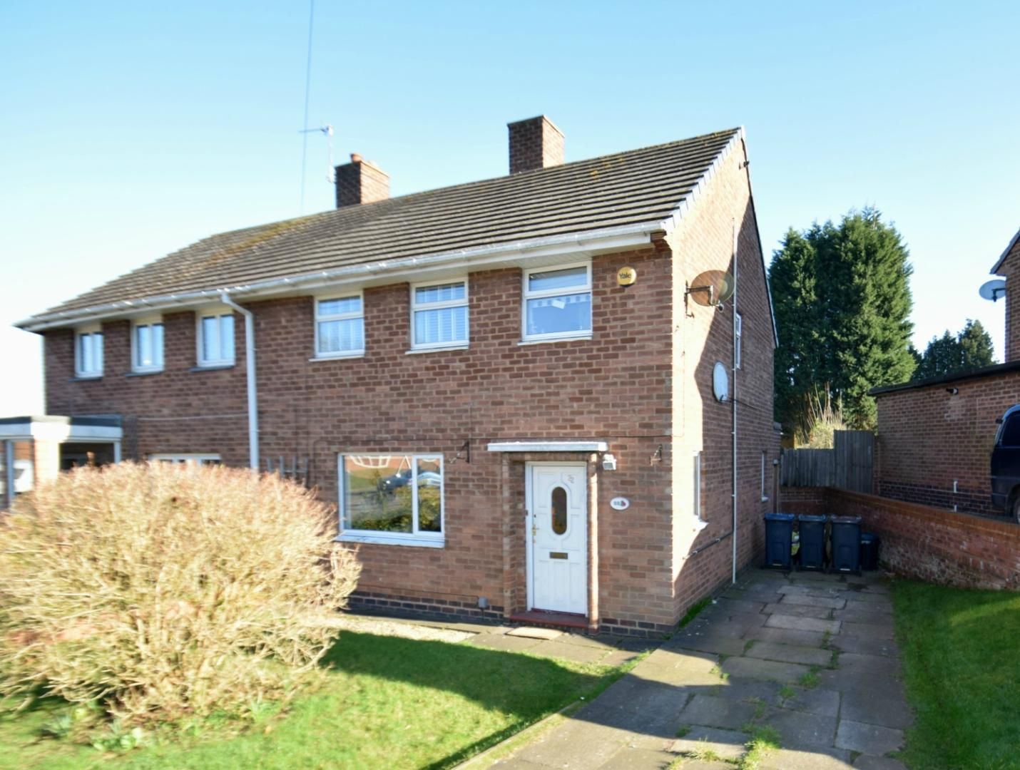 3 bed semi-detached for sale in Shepley Road, Rednal  - Property Image 1