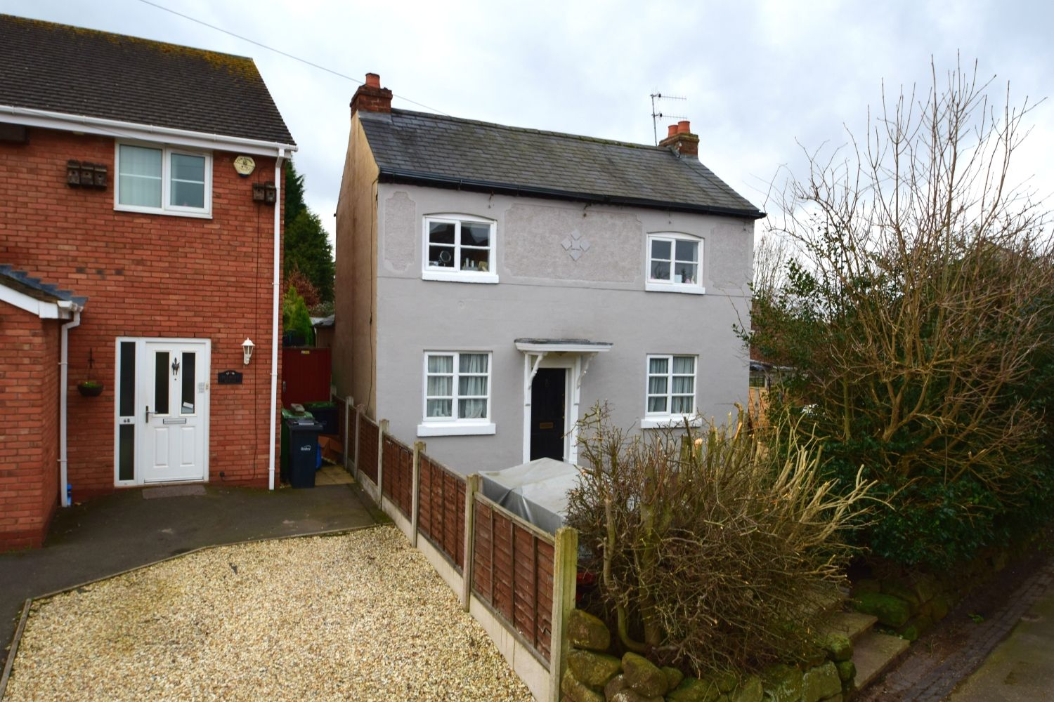3 bed detached for sale in Belmont Road, Wollescote - Property Image 1