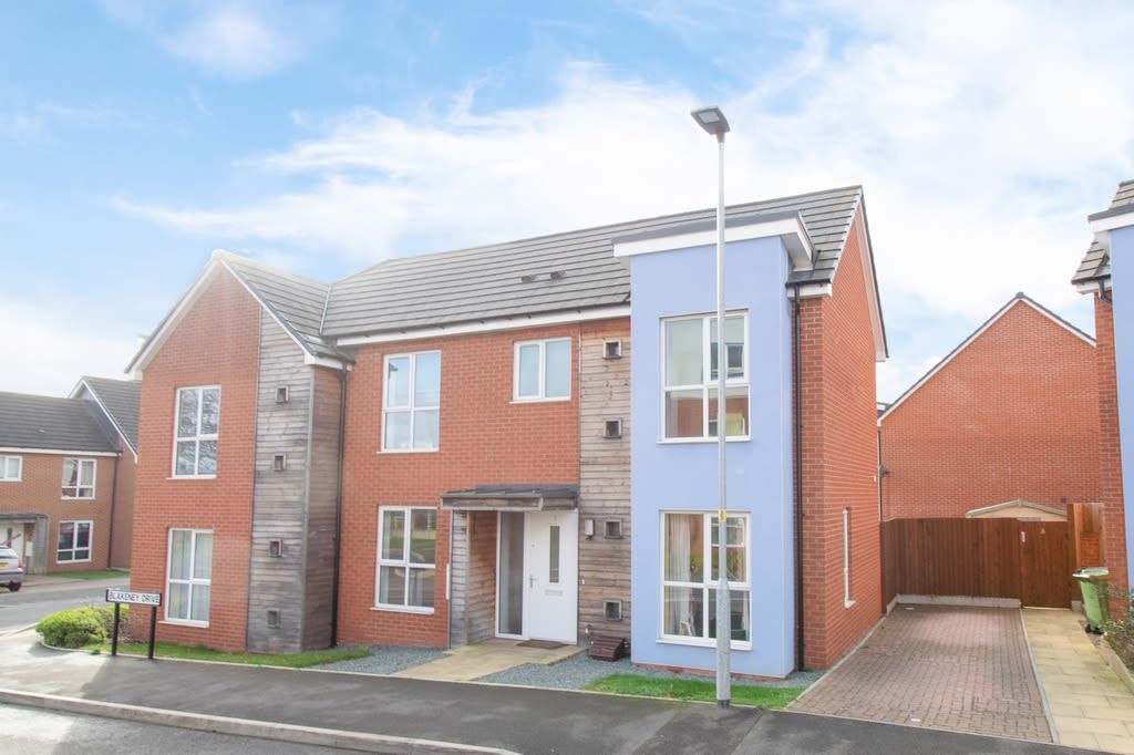 2 bed semi-detached for sale in Blakeney Drive, Bromsgrove  - Property Image 1