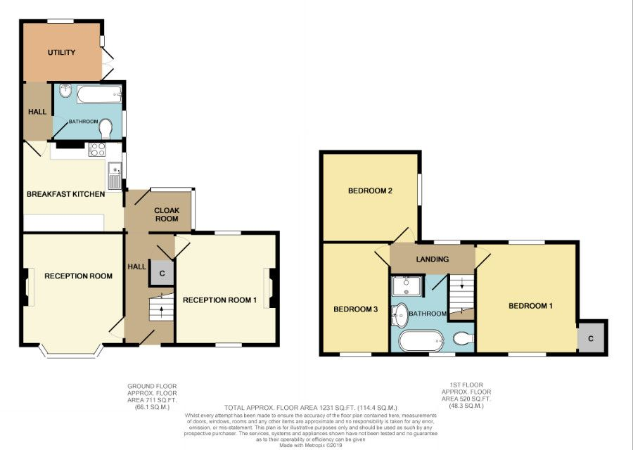 3 bed terraced for sale in Laurel Lane, Halesowen - Property Floorplan