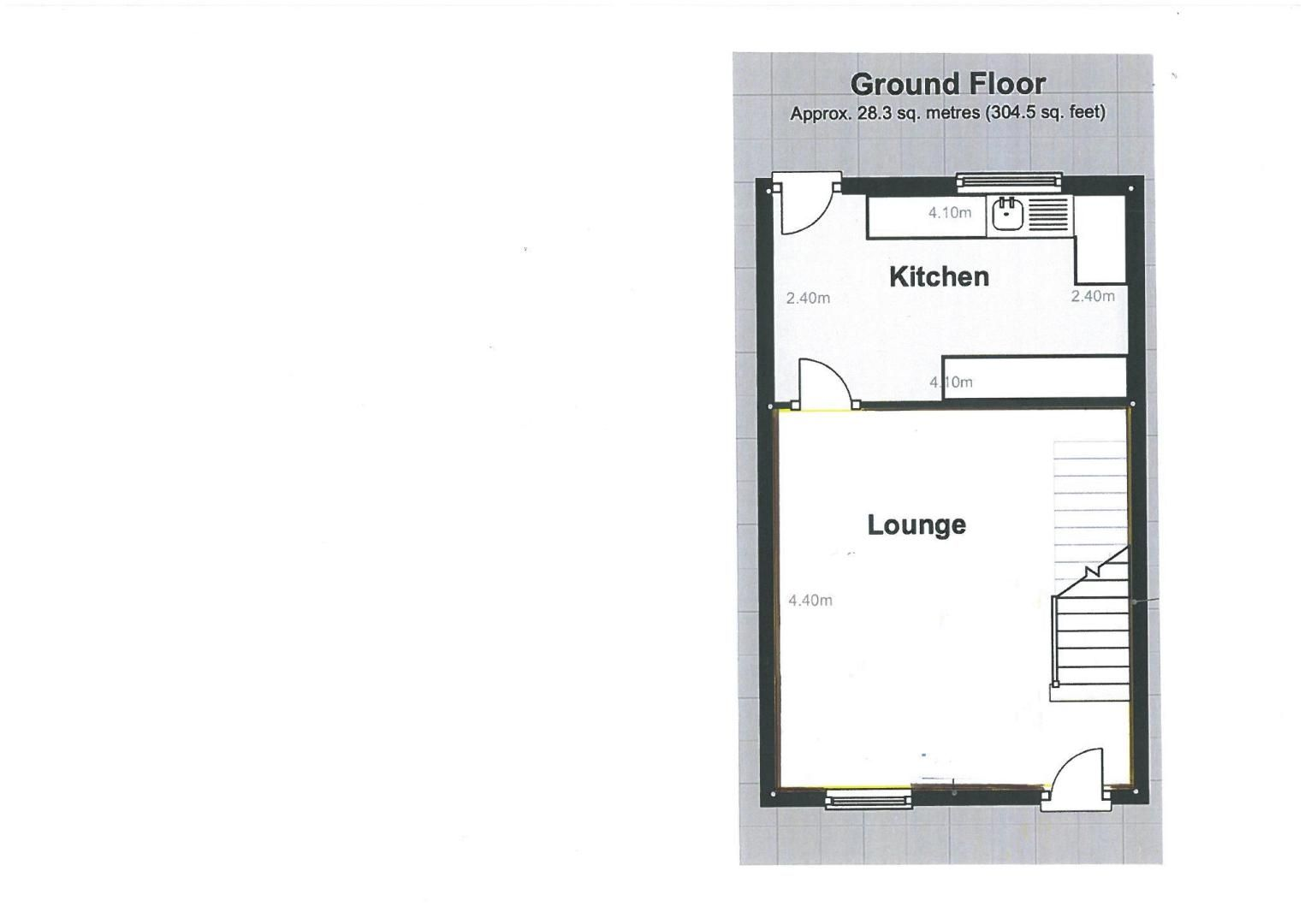 2 bed house for sale in Stoat Park - Property Floorplan