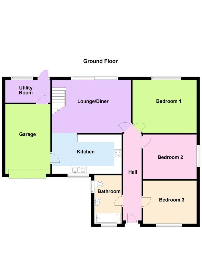 3 bed bungalow for sale in Lynhurst Avenue - Property Floorplan