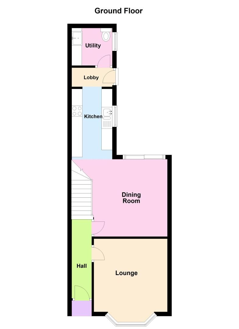 4 bed house for sale in Gloster Road - Property Floorplan