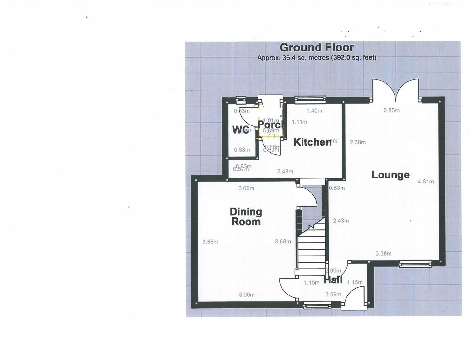 4 bed house for sale in Clinton Terrace - Property Floorplan