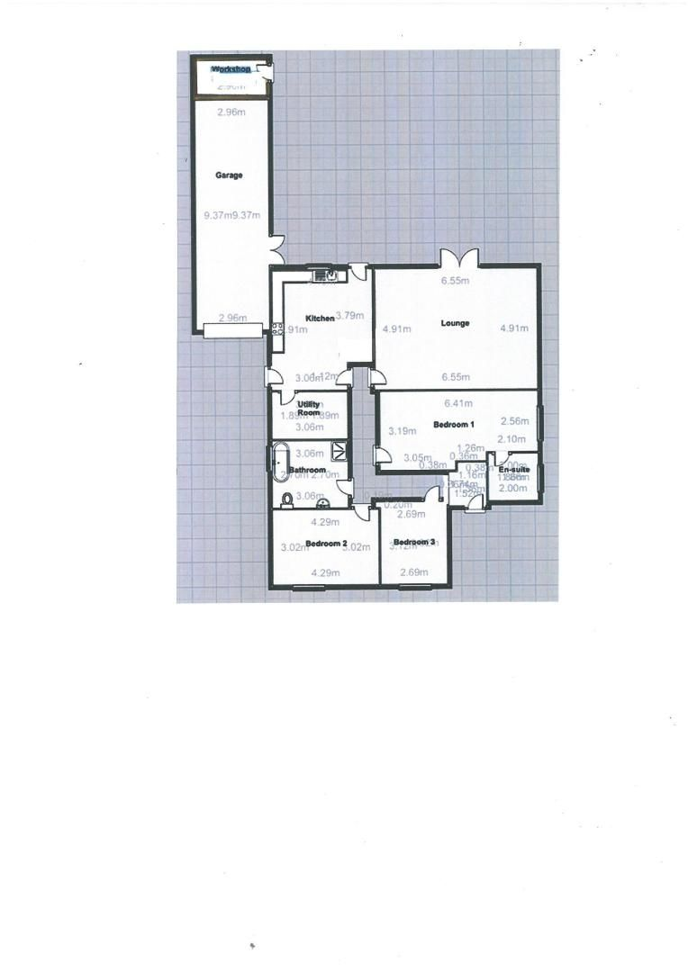 3 bed bungalow for sale in Clinton Road - Property Floorplan