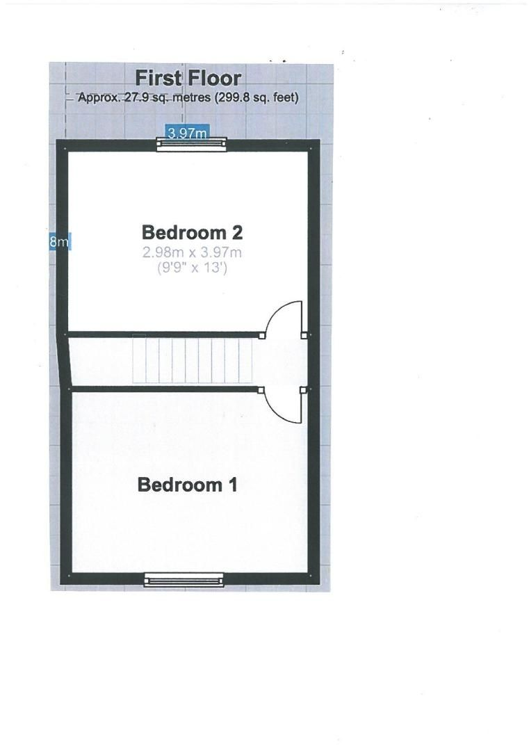 2 bed house for sale in Coldharbour - Property Floorplan