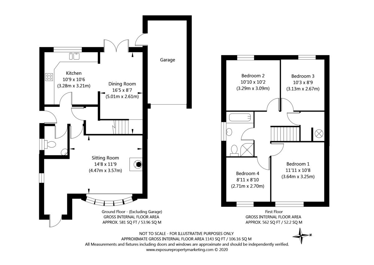 4 bed house for sale in Main Street, Copmanthorpe, York - Property Floorplan