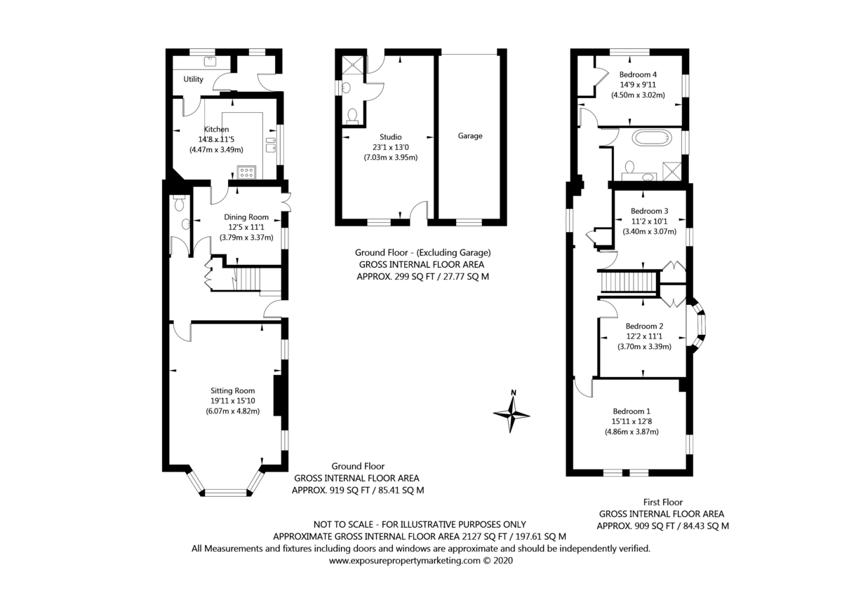 4 bed house for sale in York Road, Tadcaster - Property Floorplan