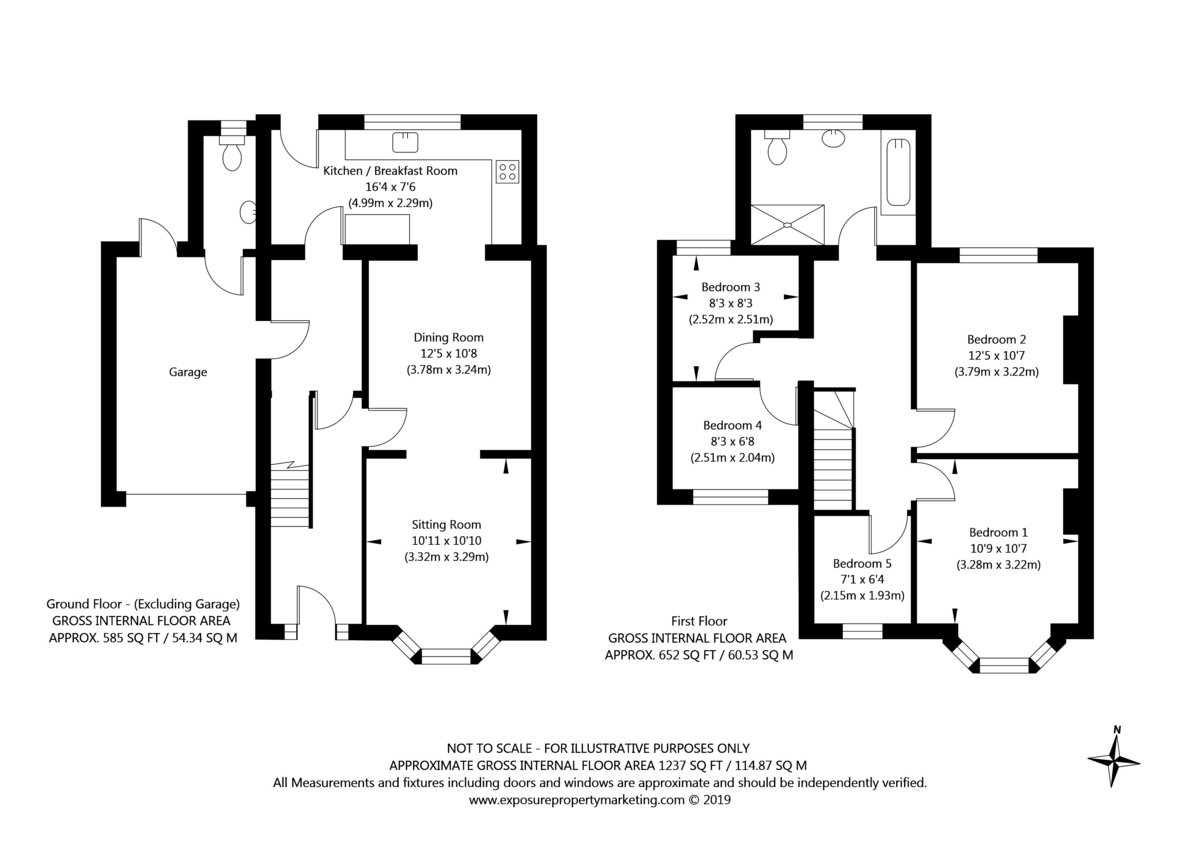 5 bed house for sale in Calcaria Road, Tadcaster - Property Floorplan
