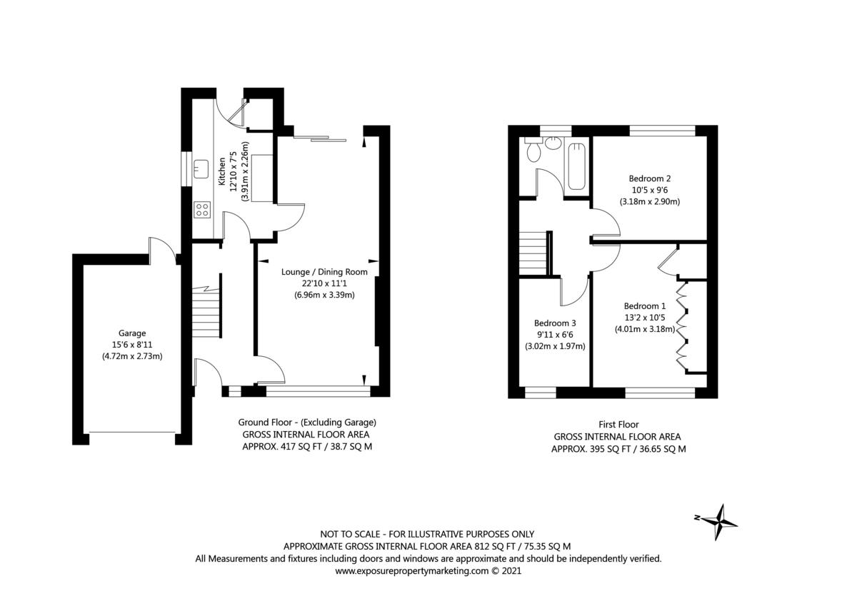 3 bed house for sale in Glenridding, York - Property Floorplan