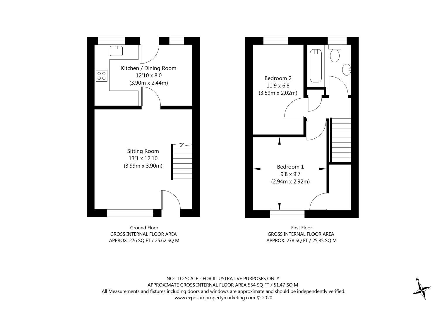 2 bed house for sale - Property EPC